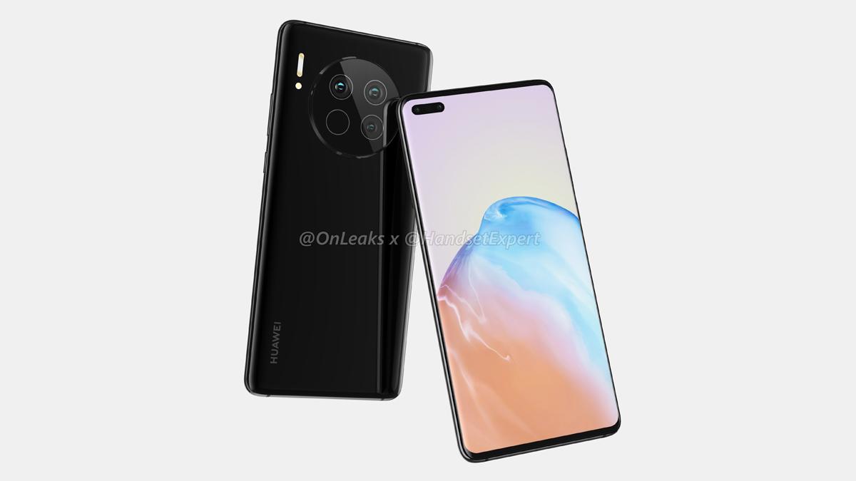 Huawei Mate 40 Renders Leaked
