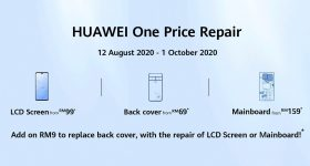 Huawei parts replacement promo