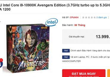Intel Avengers Edition
