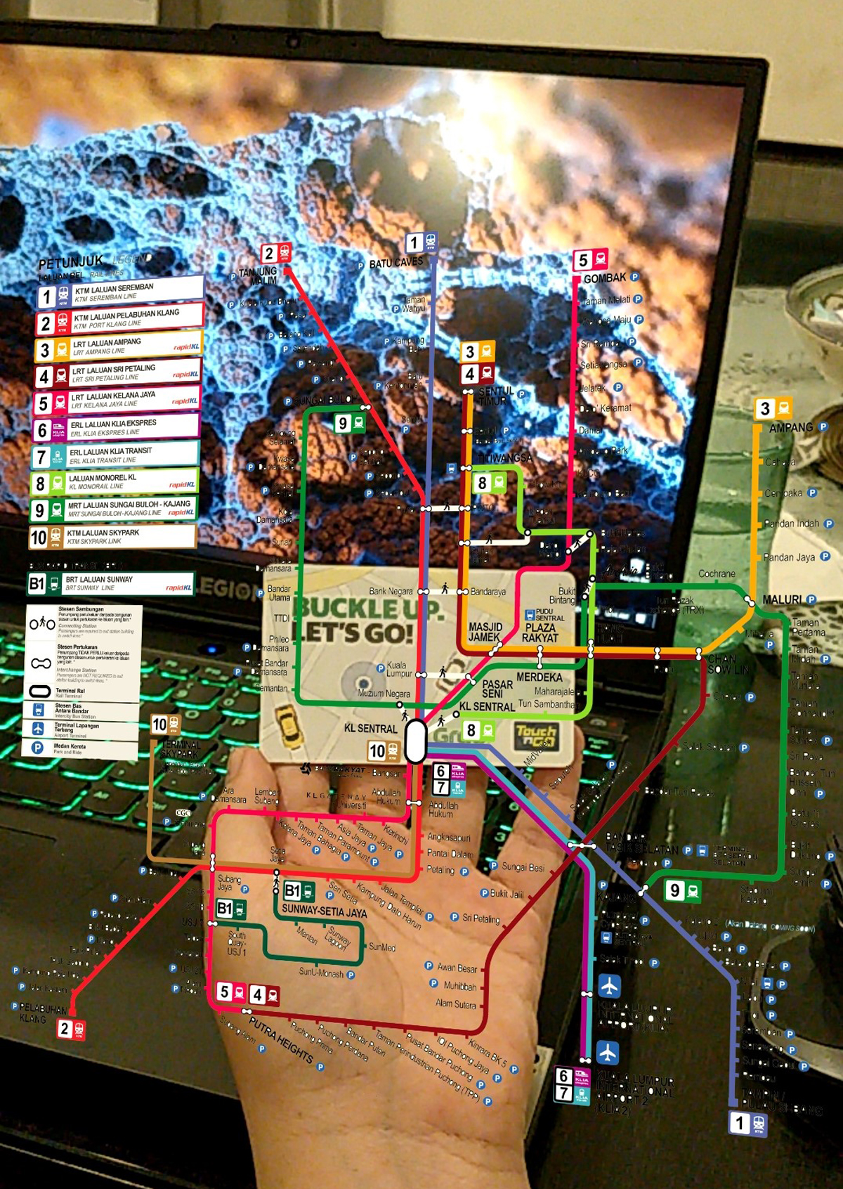 Local Web Developer Creates AR Map For LRT Routes