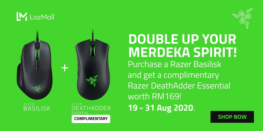 Razer Basilisk + DeathAdder Essential deal
