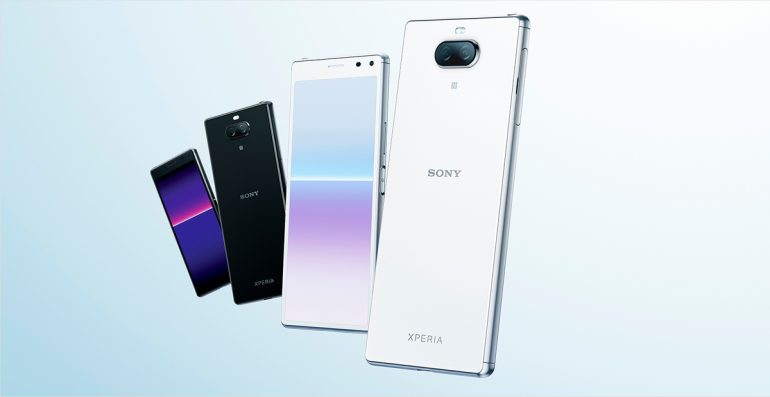 Sony Japan Launches Xperia 8 Lite
