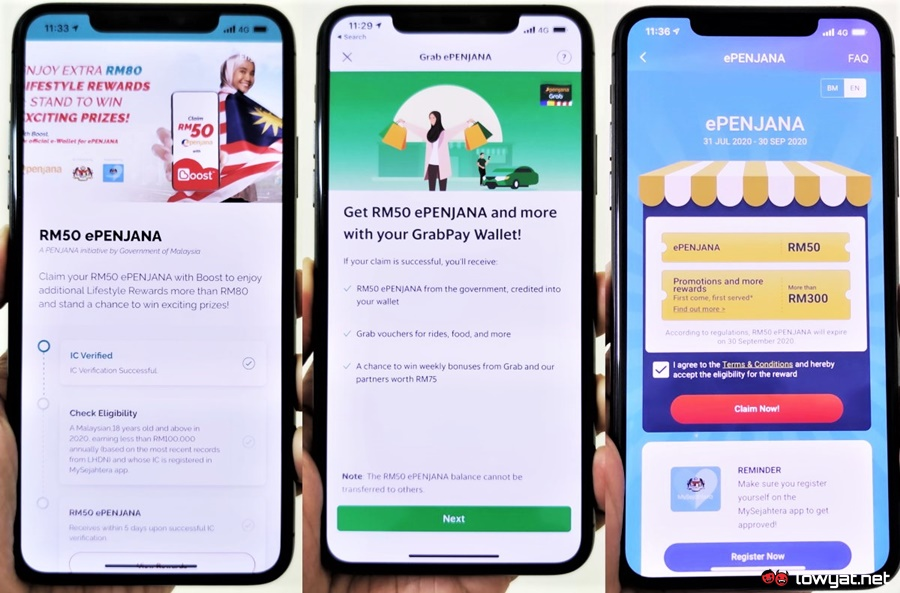 A Guide To Epenjana Rewards Incentives From Boost Grabpay And Tng Ewallet Lowyat Net