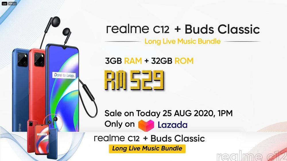 realme C12 price
