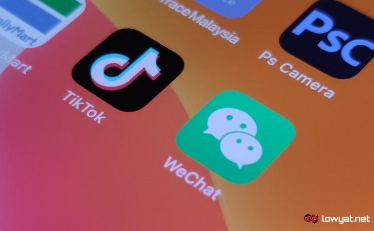 TikTok WeChat US ban