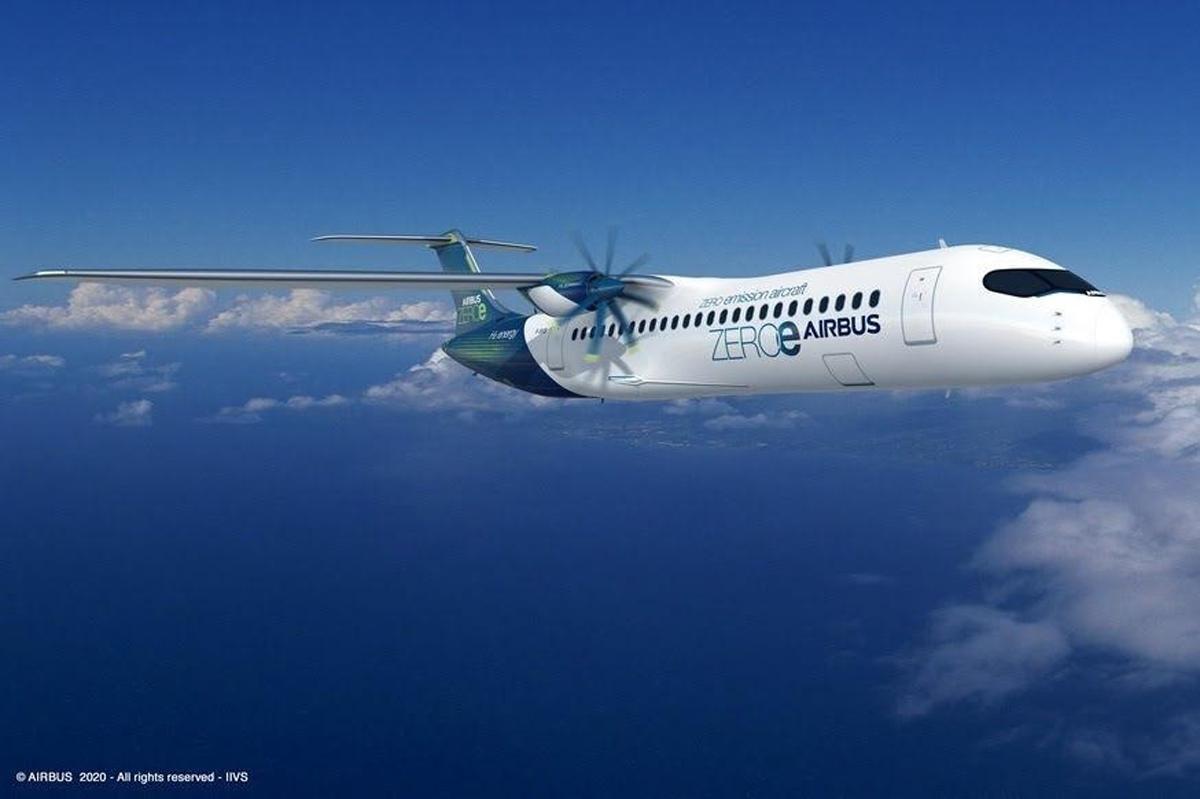 Airbus Zero-Emissions Concept Designs Aircraft