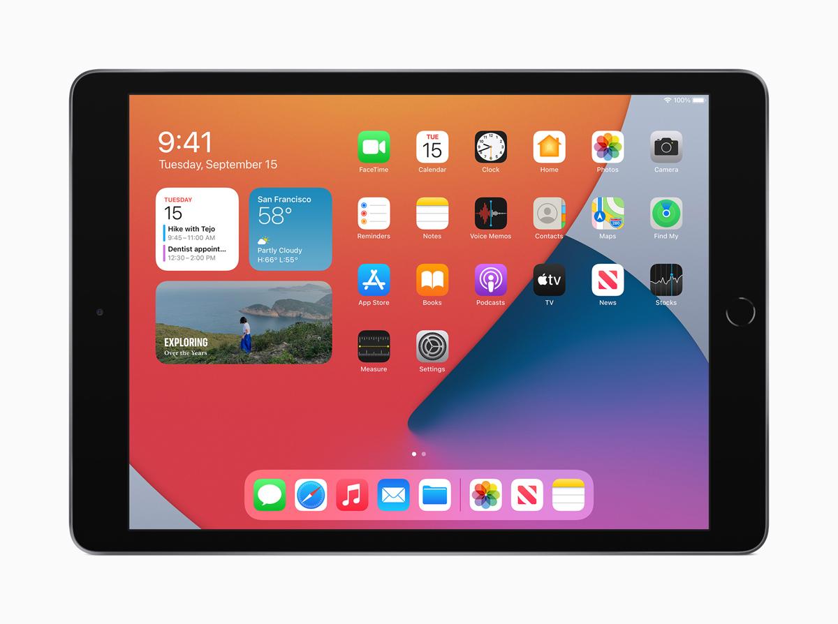 Apple iPad 8th gen introduced