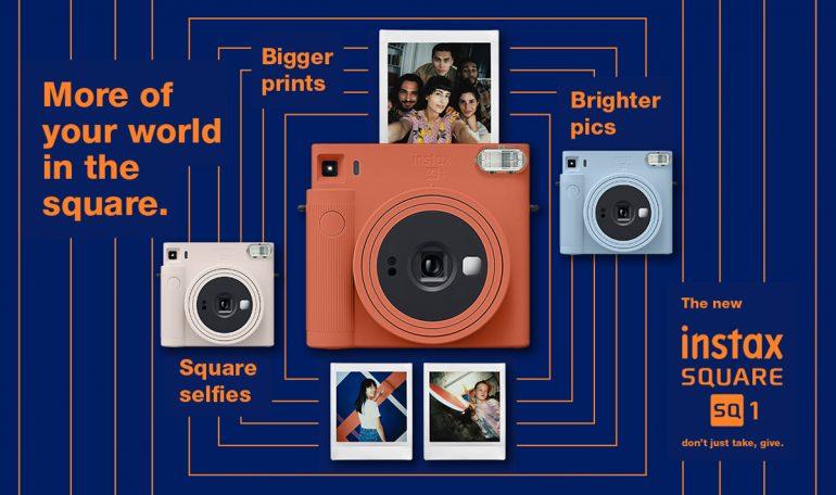 Fujifilm Instax SQUARE SQ1 Official
