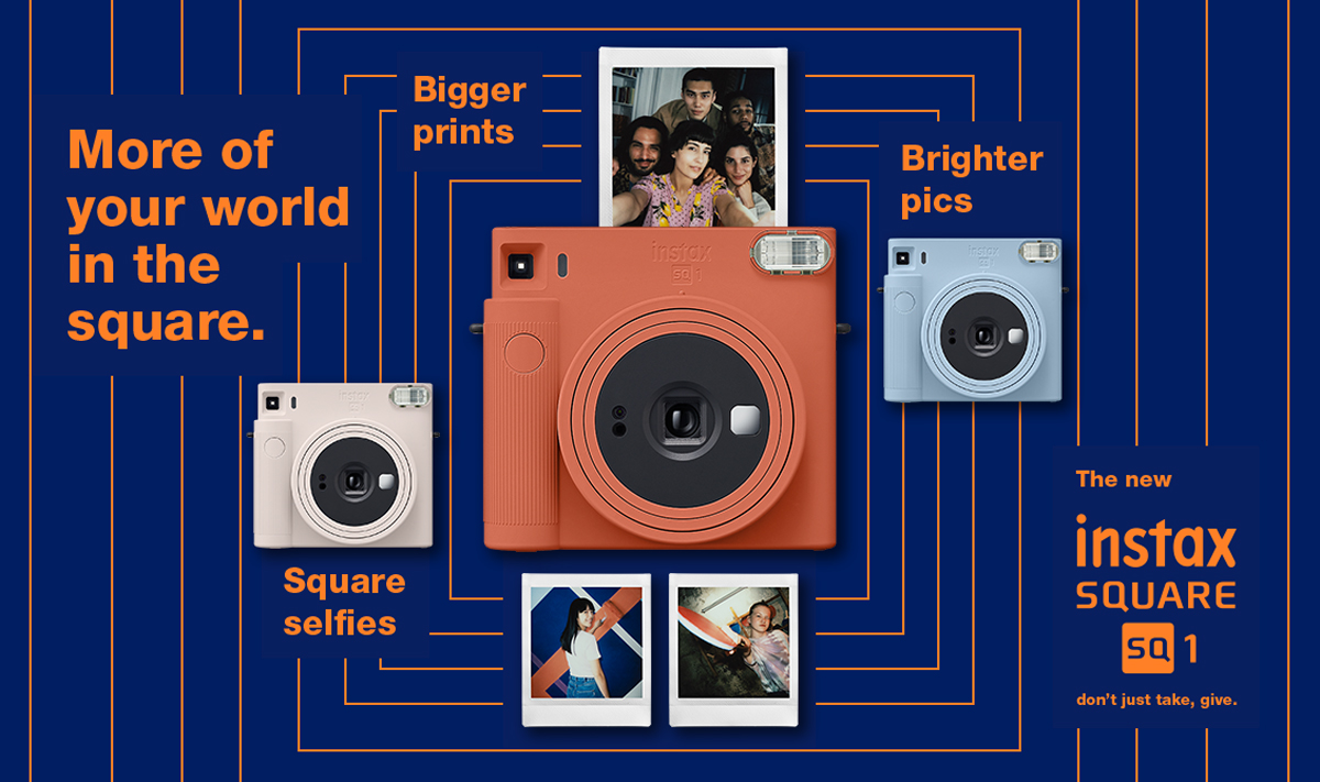 Fujifilm Instax SQUARE SQ1 Now Official; Priced At USD120 | Lowyat.NET