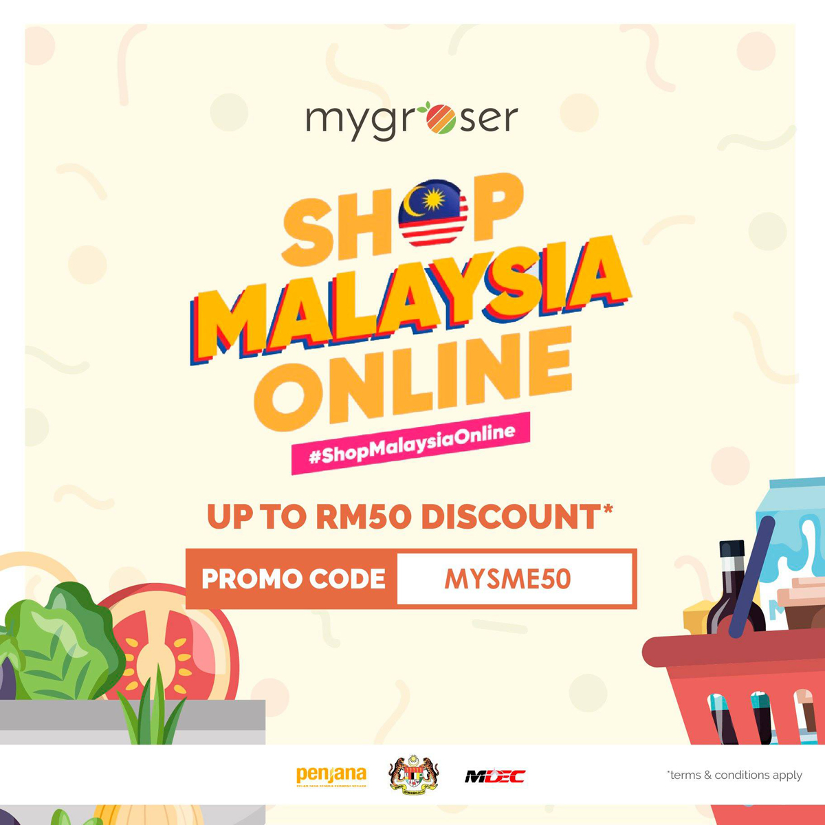 MYGROSER Online Grocery Platfrom Malaysia Shopping