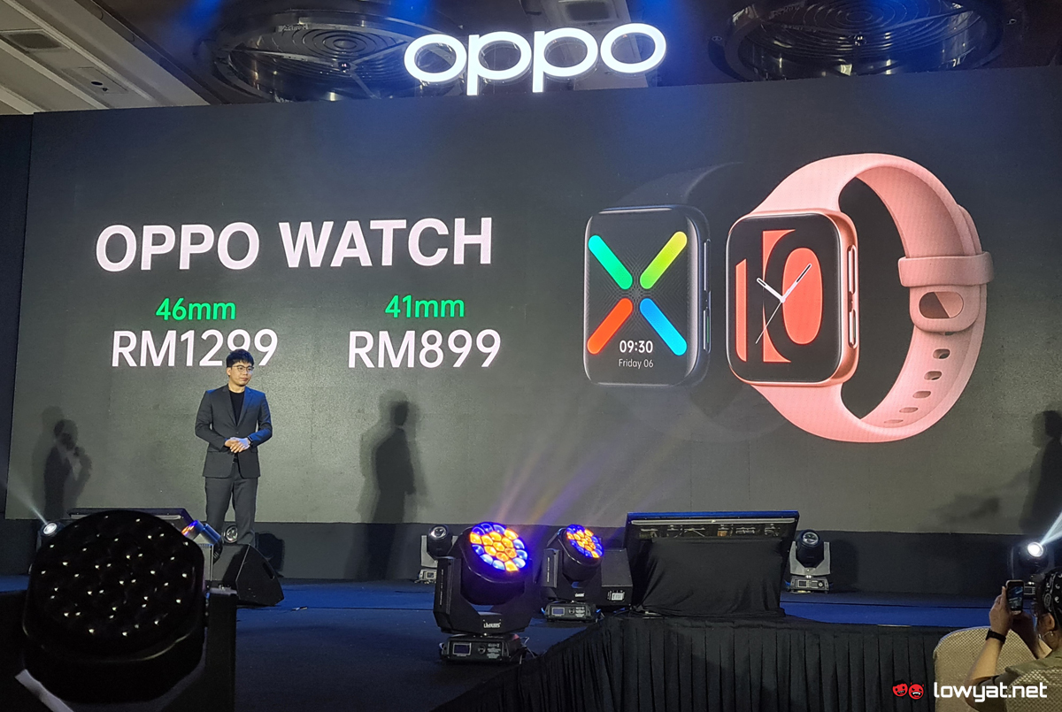 OPPO Watch Series Malaysia