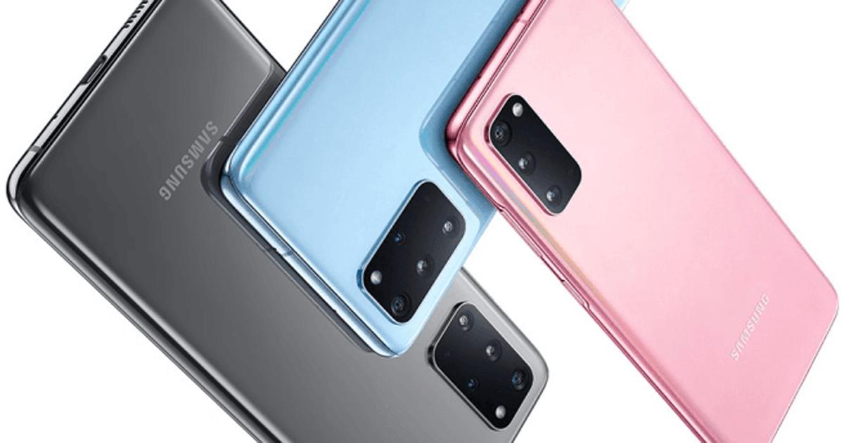 Samsung Galaxy S20 Plus Farben