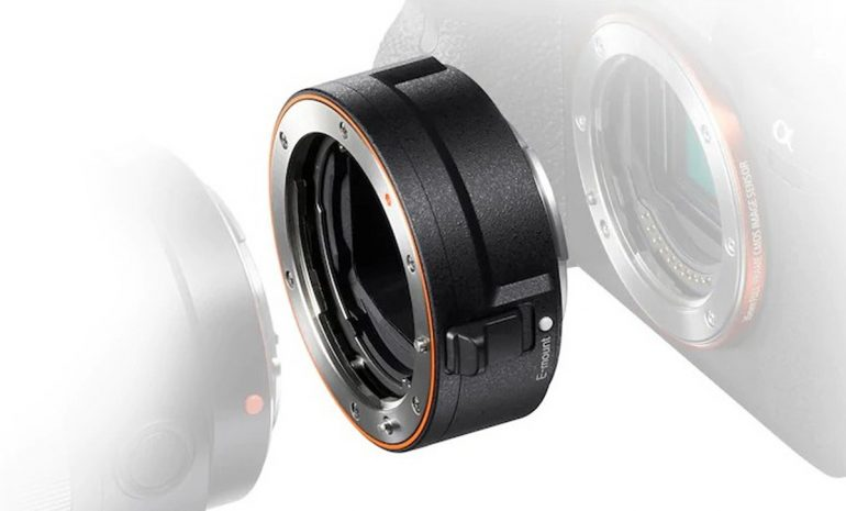 Sony Unveils LA-EA5 Lens Adapter A-mount