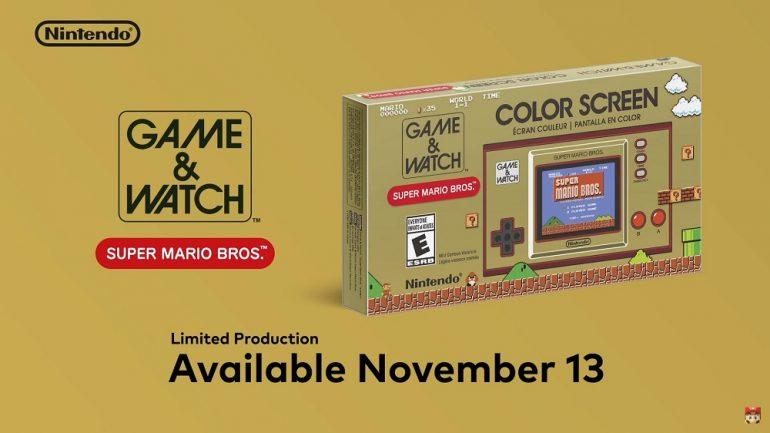Super Mario Game & Watch details