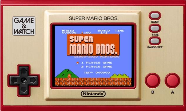 Super Mario Game & Watch