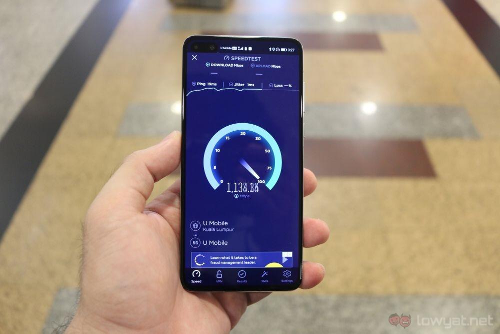 U Mobile 5G trial 2