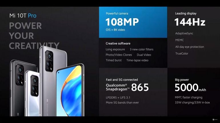 Xiaomi Mi 10T Pro overview