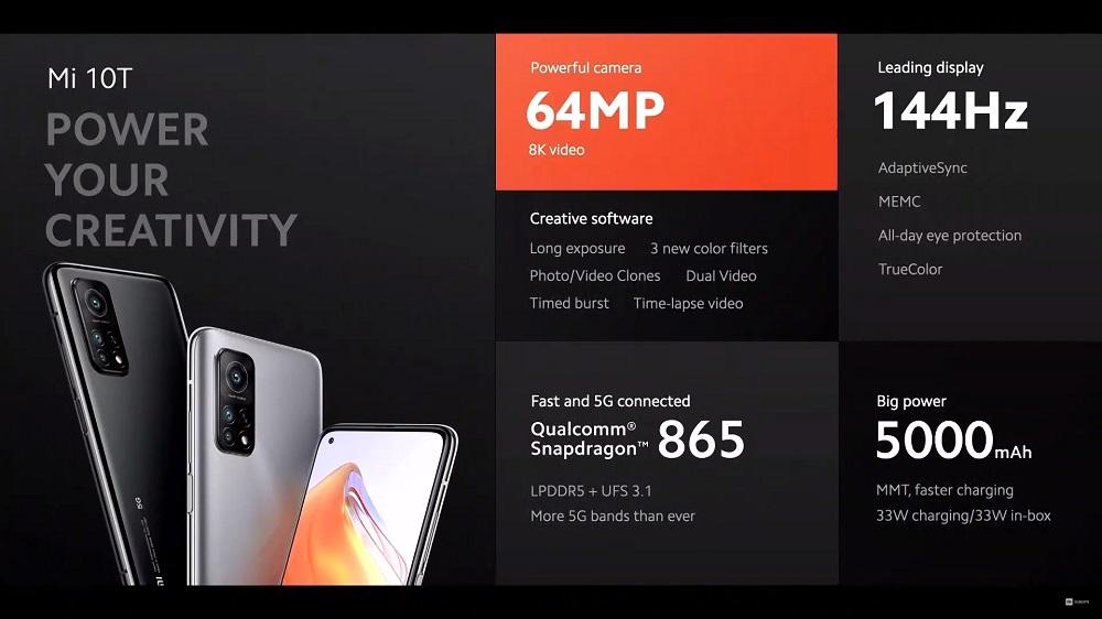 Xiaomi Mi 10T overview