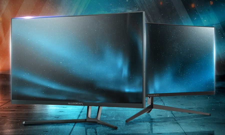 Illegear Bolt Curved Gaming Monitors