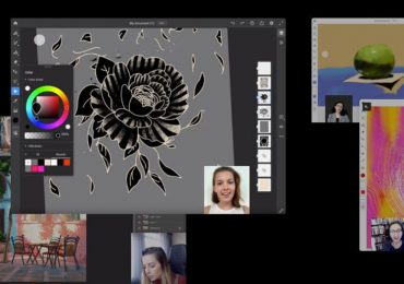 Adobe Photoshop Illustrator Live Streaming Feature iPad
