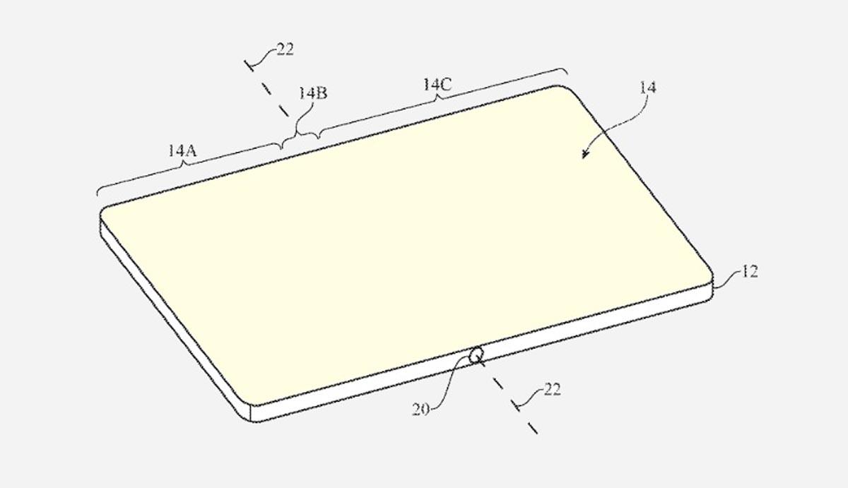 Apple Patent Foldable Phone Self-Healing Display