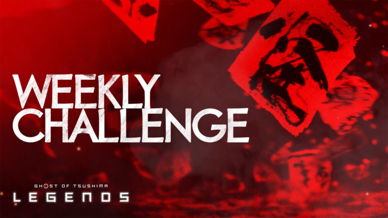 Ghost of Tsushima Legends weekly challenges