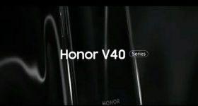 Honor V40 teaser leaks