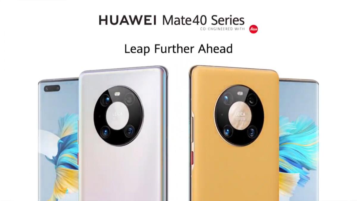 Huawei Mate 40 Flagship Series