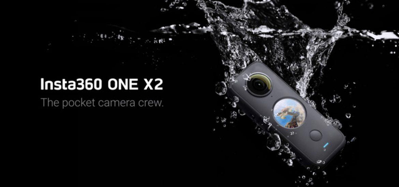 Insta360 ONE X2 360-degree camera