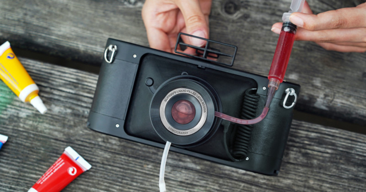 Lomography Toy Camera Liquid-filled lens panoramic