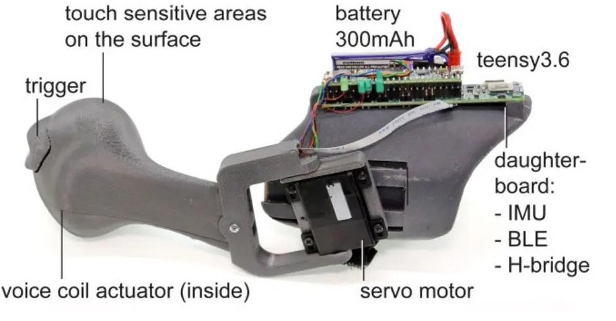 Microsoft Haptic PIVOT controller
