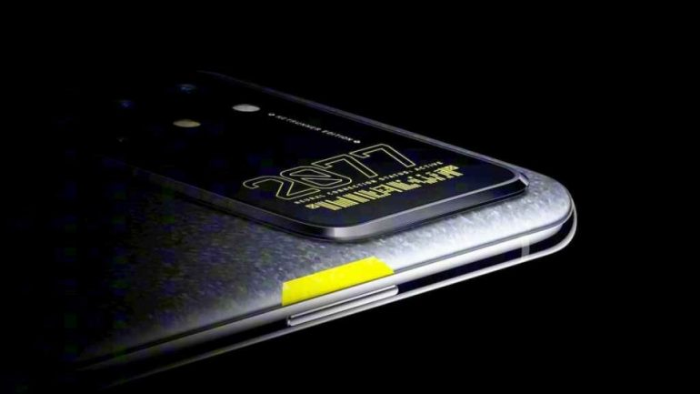 OnePlus 8T Cyberpunk 2077 Edition Teased