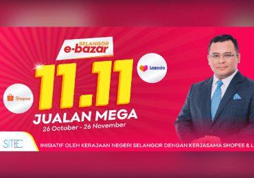 Selangor Govt E-Bazar Mega Sales Campaign