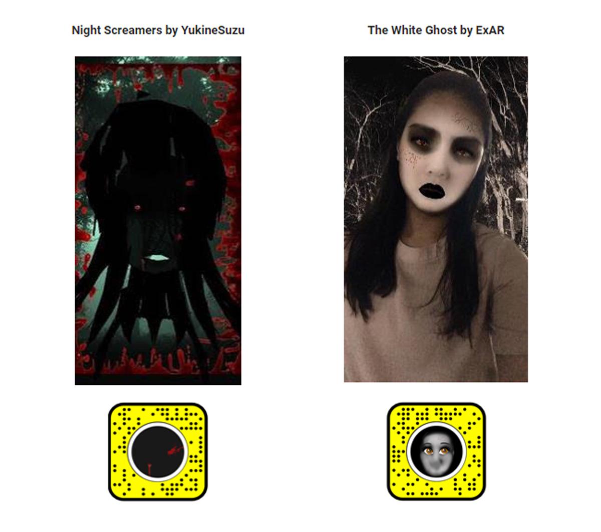 Snapchat Halloween