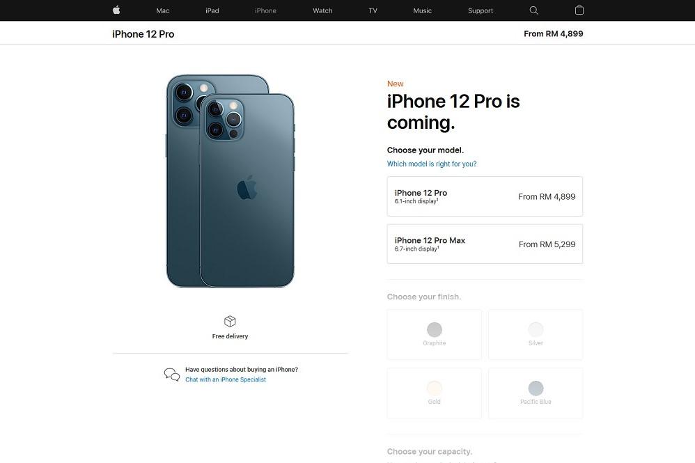 iPhone 12 Pro prices