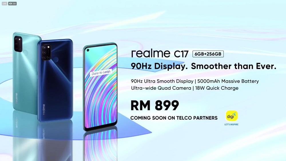 realme C17 price