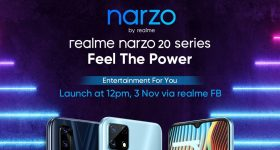 realme narzo 20 series Launch