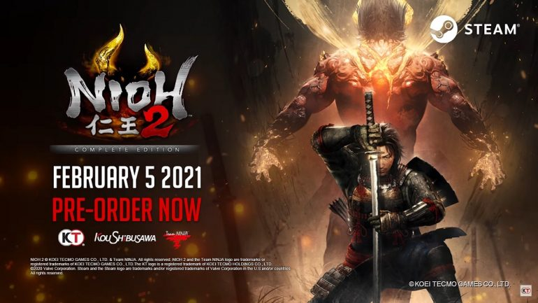 Nioh 2 - The Complete Edition Steam
