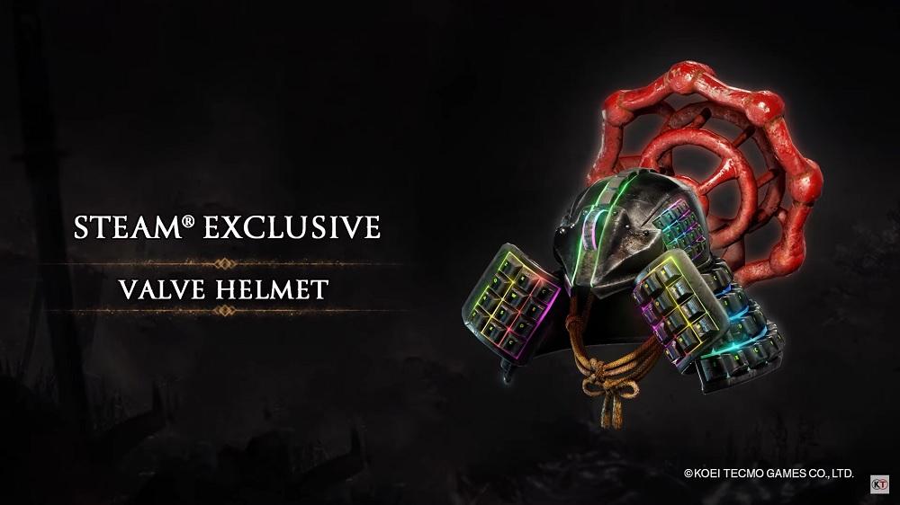 Nioh 2 - The Complete Edition Valve Helmet