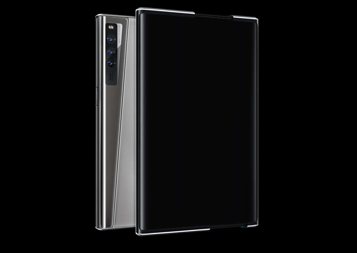 OPPO X 2021 Extendable Smartphone Concept Rollable