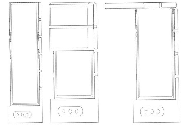 OPPO foldable patent 1 combine