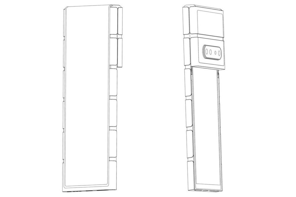 OPPO foldable patent 3 + 4