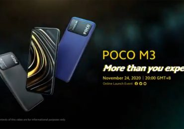 POCO M3 Specifications Design Revealed