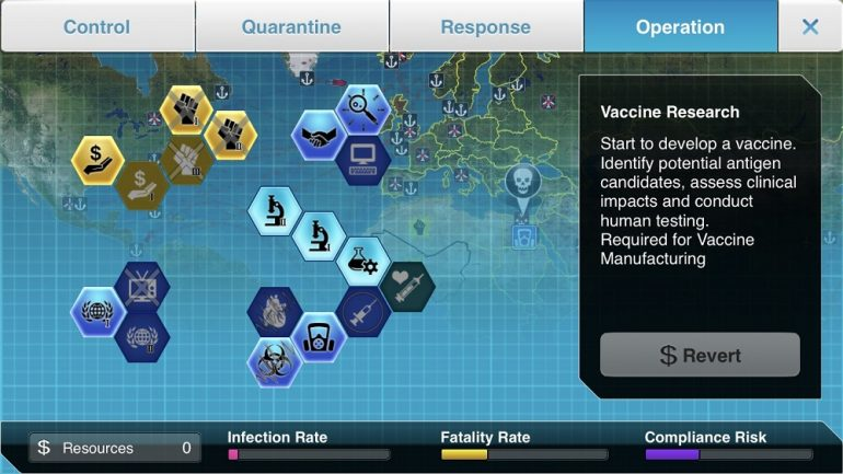 Plague Inc The Cure gameplay