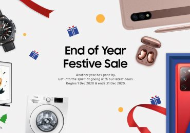 Samsung End of Year Festive Sale Galaxy Discounted Promotion