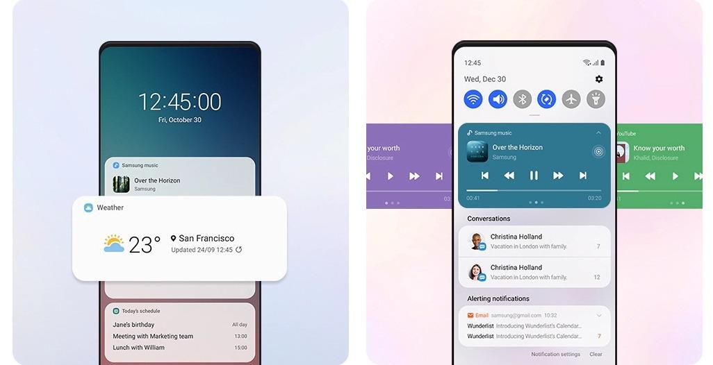 Samsung One UI 3.0 Malaysia Galaxy S20