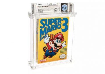 Super Mario Bros 3 auction