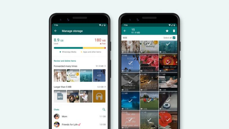 WhatsApp Rolls Out New Storage Management Tool For Mobile App