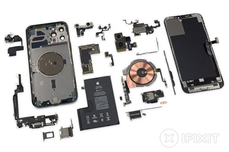 iPhone 12 Pro Max teardown iFixit