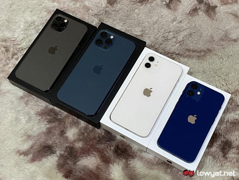 iPhone 12 family